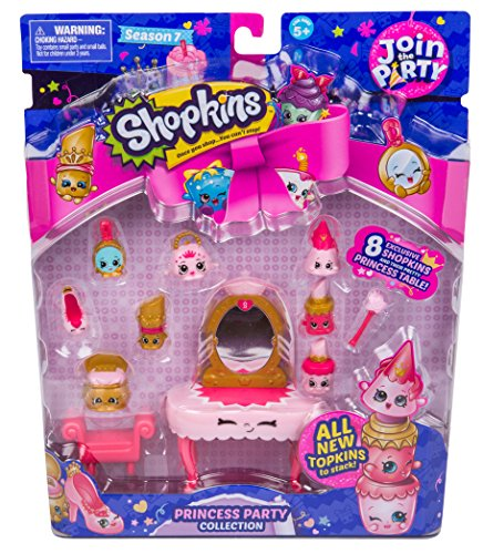 Shopkins S7 Join the Party Theme Pack: Princess Party Collection