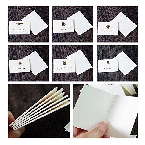 beauty360tech tarjetas invitación tarjeta para el día de la madre de regalo de diseño de metal retro de estéreo Pack de 6