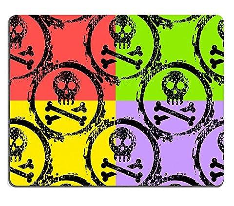 MSD en caoutchouc naturel Tapis de souris Image ID: 12345172papier peint de différents cœurs colorés 1827