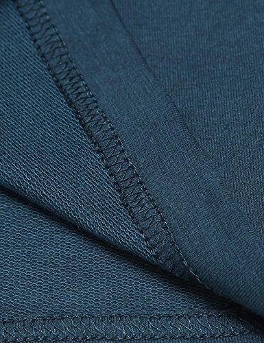 Untlet Herren Schlafanzughosen Jersey Pocket Knit Schlaf Shorty Navy blau6503