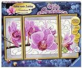 Ravensburger 28969 - Wilde Orchidee - Malen nach Zahlen Premium, 80 x 50 cm