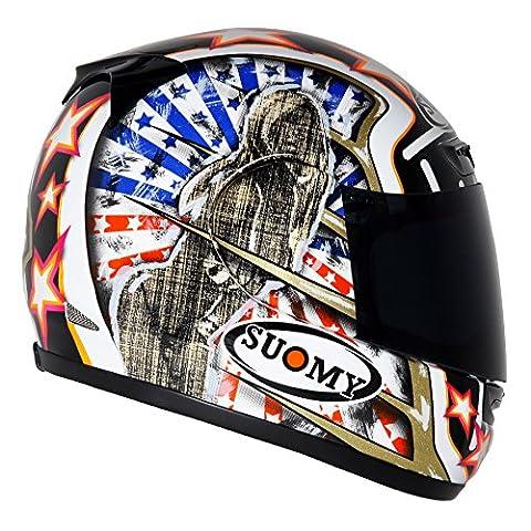 Suomy Casque Moto Intégral Apex, Sam, M