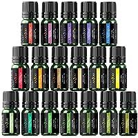 Anjou Essential Oils Set (18 x 5 mL Oils, 100 Percent Pure Lavender, Sweet, Tea Tree, Eucalyptus, Lemongrass, Peppermint, Bergamot, Frankincense, Lemon, Rosemary, Cinnamon, Ylang Ylang and Other 6)
