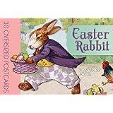 Easter Rabbit Postcard Book
