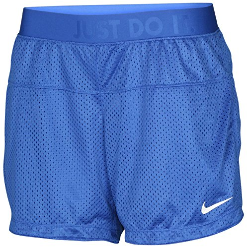 Nike Damen Reversible Icon 6.5 Mesh Trainingsshorts-Royal Blue-XS (Shorts Reversible Nike)