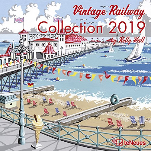 Vintage Railway Collection 2019 Broschürenkalender