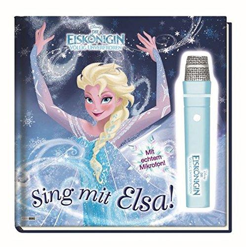 Preisvergleich Produktbild Disney Die Eiskönigin: Sing mit Elsa!: Geschichtenbuch mit Mikrofon