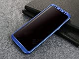 #3: 360 Degree Full Body Protection Front & Back Case Cover (iPaky Style) with Tempered Glass for VIVO V7+ / V7 PLUS (BLUE)