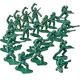German Trendseller® - 12 x soldats en miniature kit┃vert armée ...