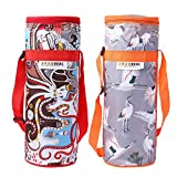 Trendy Bottle Cover To Keep Water Cool / Hot For Long Hours Compatible To All 1 Liter Bottle Pack Of 2