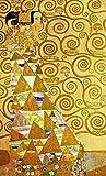 JH Lacrocon Gustav Klimt - Studie Für Die Erwartung Leinwandbilder Reproduktionen Gerollte 35X60 cm - Figürlich Gemälde Gedruckt Wandkunst