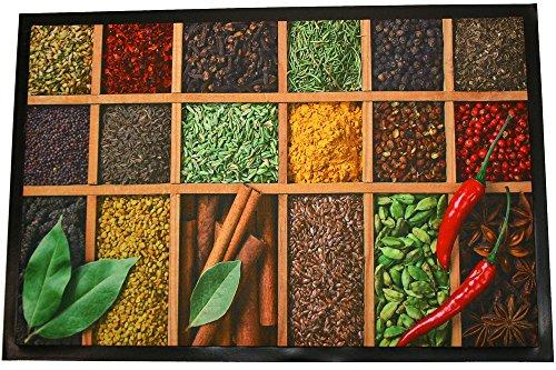 Montse Interiors, S.L. Alfombra Cocina Microfibra Antideslizante Spices