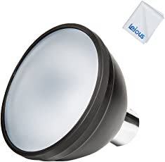 Godox AD-S2 Standard Reflector with Soft Diffuser for AD200 AD360II AD360 AD180 Camera Flash Speedlite with Lejous Cleaning Cloth