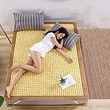 WENZHE Matratzen Sommerschlafmatte Bettmatte Bambus Matratze Zusammenklappbar Bettwäsche Pad Schlafsaal Studenten Schlafzimmer, 9 Größen