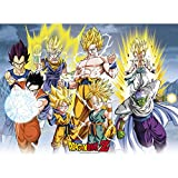 Abystyle Abysse Corp _ ABYDCO337Dragon Ball–Poster Dbz/All Stars (52x 38)
