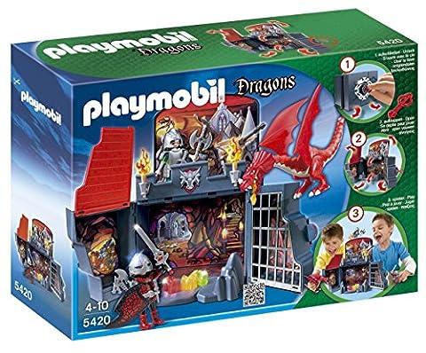 Playmobil Dragons 5420 Coffret - Chevaliers et dragon