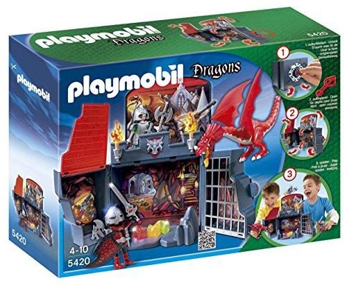 Playmobil Princesas - Cofre guarida del dragón (5420)