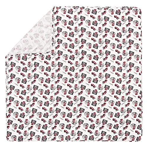 Trend Lab Dr. Seuss Cat In The Hat Deluxe Flanell Wickeldecke