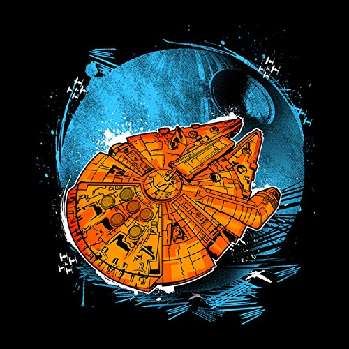 Star Wars Thats No Moon Men's T-Shirt Black