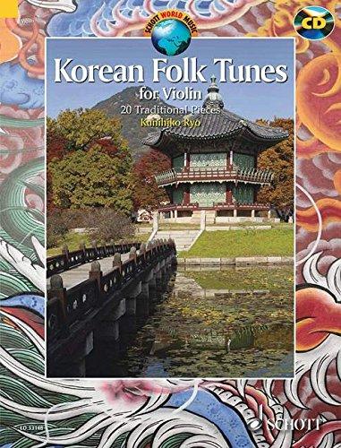 Korean Folk Tunes for Violin: 20 Traditional (World Music Songbook)