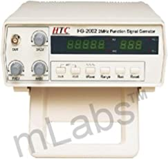 HTC FG-2002 Digital 0.2 Hz ~ 2 MHz Function Generator With 5 digit LED display by mLabs