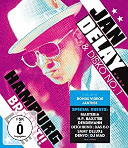 Jan Delay & Disko No. 1 - Hamburg brennt!! Live [Blu-ray]