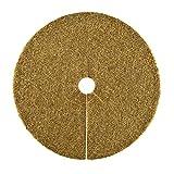 HaGa® Kokosscheibe Kübelabdeckung Winterschutz für Topfpflanzen L Ø45cm