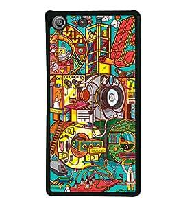 Wallpaper 2D Hard Polycarbonate Designer Back Case Cover for Sony Xperia M5 Dual :: Sony Xperia M5 E5633 E5643 E5663