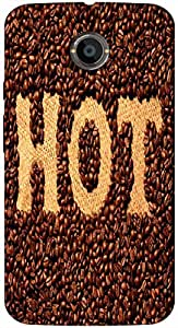 Timpax Protective Armour Case Cover. Multicolour Printed Design : Coffee beans.100% Compatible with Motorola Moto X-2 ( 2nd Gen )