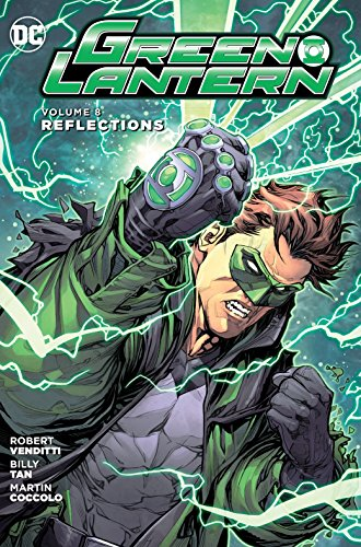 Green Lantern HC Vol 8 Reflections Cover Image
