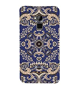PrintVisa Designer Back Case Cover for HTC One Max :: HTC One Max Dual SIM (leaf waterflower paint frame pattern)