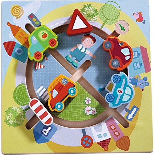 Haba 301704 Motorikbrett Fahrzeug-Welt