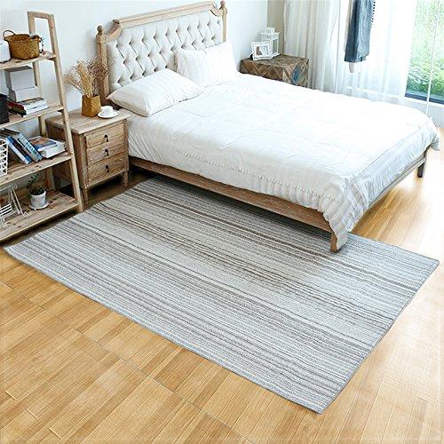 WXIN /Gestreifte Teppiche/Sofa Im Wohnzimmer Couchtisch Teppiche Polster Schlafzimmer Bett Teppich...