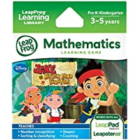 LeapFrog Learning Mathematics Game - Disney Jake and the Never Land Pirates - LeapPad Leapster Maths