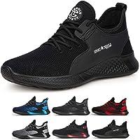 TQGOLD Chaussure de Securité Homme Femmes S3 Baskets Légères et Antidérapantes Chaussures de Travail avec Embout de…