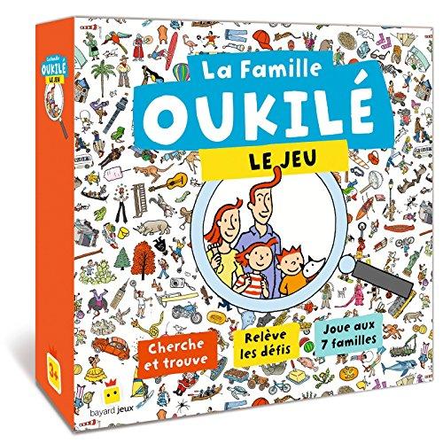 JEU OUKILÉ Le jeu: Cherche et trouve - Relève les défis - Joue aux 7 familles par Béatrice Veillon