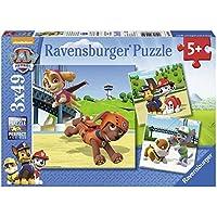 PAW PATROL - Rompecabezas 3 x 49 piezas (Ravensburger 09239) - Peluches y Puzzles precios baratos