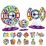 Shinehalo 62PCS Magnetic Building Blocks for Kids Creativity Giocattoli educativi per bambini DIY Block Modello Giocattoli per bambini Regali di Natale