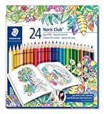 Staedtler 144 C24JB - Buntstifte Noris Club Set 24 farben
