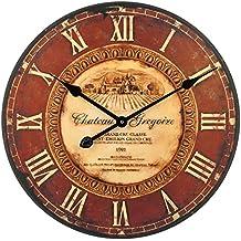 Technoline Wt 1511 Reloj de Pared del Cuarzo, Chateau Gregoire