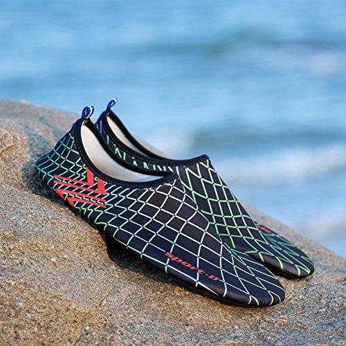 Scarpe Da Bagno Saguaro® Scarpe Da Spiaggia Scarpe Acqua Scarpe Acqua Scarpe Da Surf Per Donna Uomo Bambini Nero 3