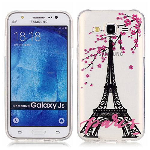 Cover Samsung J5 in Silicone, LuckyW TPU
