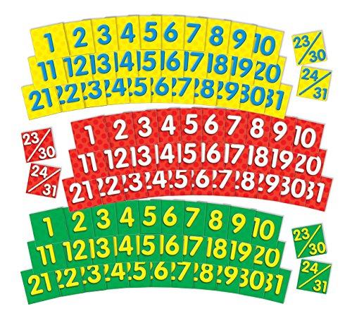 Scholastic Teacher 's Friend Kalender Termine (3farbigen Sets) (tf5402) (Kalender Pocket Chart)