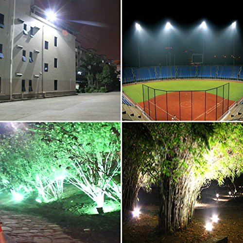 Pauwer led floodlight outdoor security lights with uk plug pauwer led floodlight outdoor security lights with uk mozeypictures Image collections