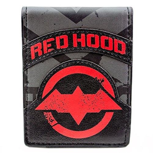 Cartera de DC Comics Batman Red Hood Negro