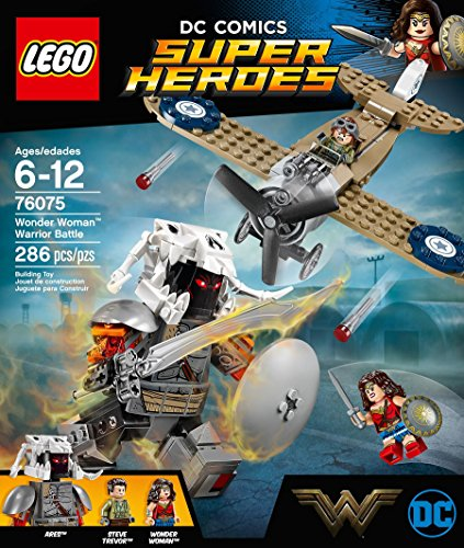 LEGO® 76075 Super Heroes Wonder Woman im Action-Getümmel (Wonder Woman Anzug)