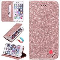 Sycode Glitzer Schutzhülle für iPhone 8 (4.7 Zoll),Flip Hülle für iPhone 7 (4.7 Zoll),Luxus Noble Bling Glitter... preisvergleich bei billige-tabletten.eu