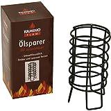KaminoFlam Ölsparer Glühspirale - Ölofenspirale - Glüheinsatz für den Ölofen - Glühkonverter - Ölofenanzünder zum Energie & Öl sparen im Ofen