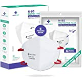Careview N95 | FFP2 Model No. CV1221H N95 Mask, with 6 Layered Filtration - DRDO SITRA and BIS approved(Pack of 6)