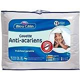 Bleu Câlin Couette Anti-Acariens Sanitized Blanc 140x200 cm KMS40